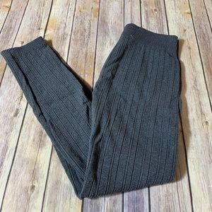 Pants - 🎉SALE!!! Cozy fleece lined knit leggings - M